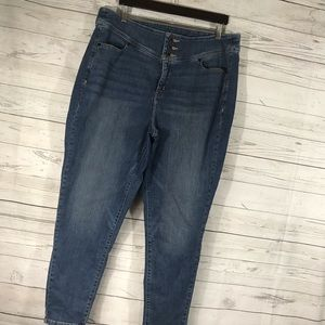 Lane Bryant Jeans Skinny High Waist Stretch 20